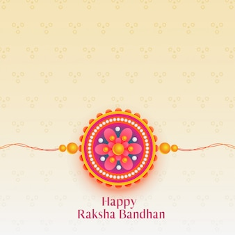 Hermoso festival de raksha bandhan