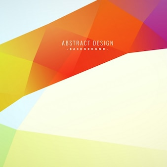 Hermoso fondo abstracto colorido