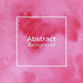 Hermoso fondo abstracto rojo acuarela