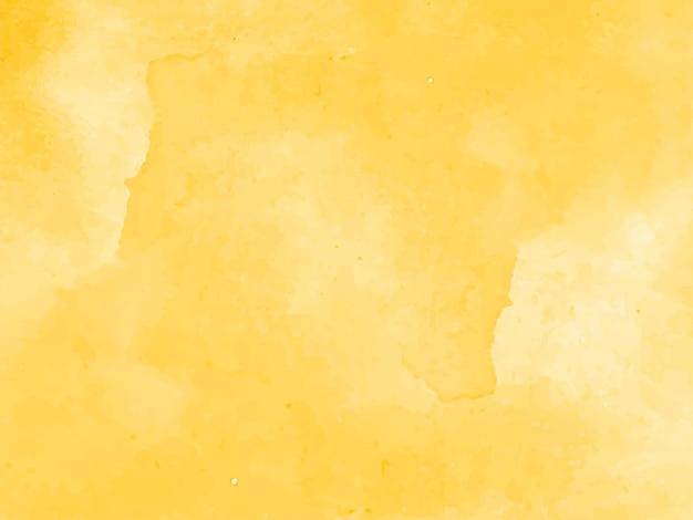Hermoso fondo de acuarela amarillo elegante vector gratuito
