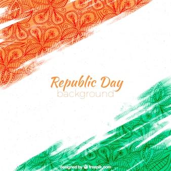 Hermoso fondo para el día de la república