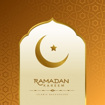 Hermoso fondo islámico ramadan kareem