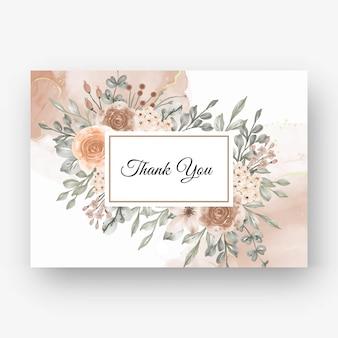 Hermoso fondo de marco rosa para invitación de boda con color beige pastel suave