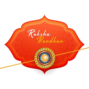 Hermoso fondo raksha bandhan feliz
