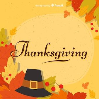 Hermoso fondo de thanksgiving