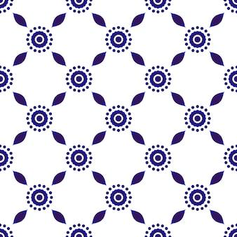 Hermoso patrón de batik