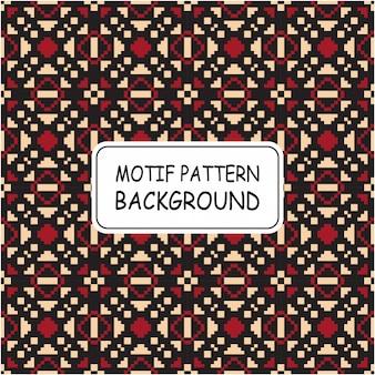 Hermoso patrón sin costuras con estilo pixel