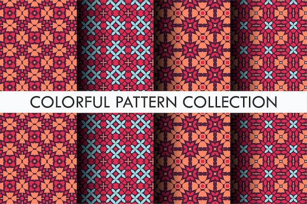 Hermoso patrón con estilo decorativo.