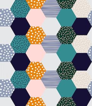 Hermoso patrón geométrico
