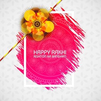 Hermoso rakhi para el festival indio