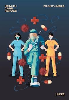 Héroes del cuidado de la salud