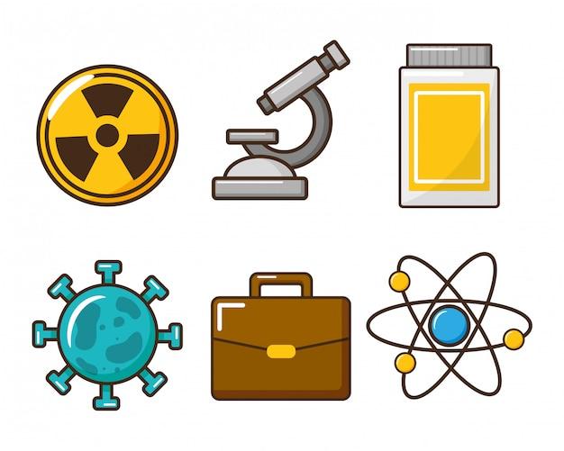 Herramienta de laboratorio de la ciencia