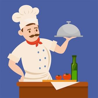 Herramienta de trabajo del chef.
