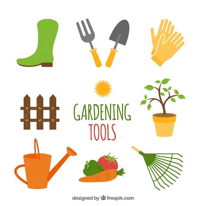 Jardinero fotos y vectores gratis for Herramientas jardineria ninos