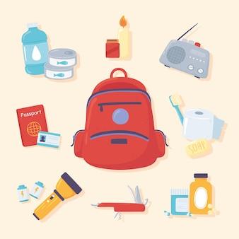 Herramientas del kit de emergencia