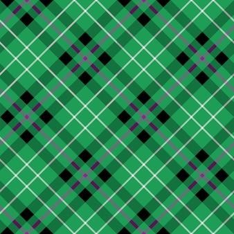 Hibernian fc tartan fabric texture diagonal seamless pattern