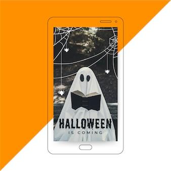 Historia de instagram de halloween