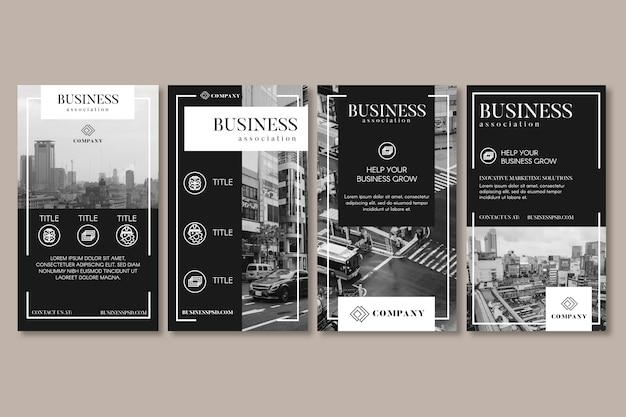 Historias generales de redes sociales de negocios