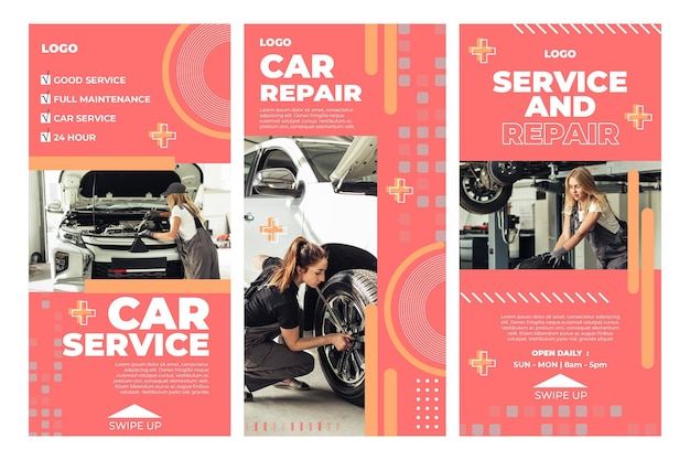 Historias de mecánicos de reparación de automóviles
