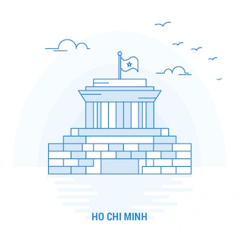 Ho chi minh blue landmark