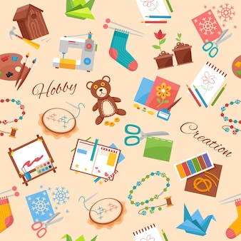 Hobby y patrón de artesanía