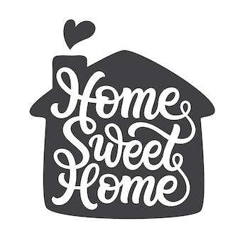 Hogar dulce hogar.