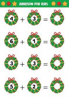 Hoja de trabajo de navidad a4 vertical