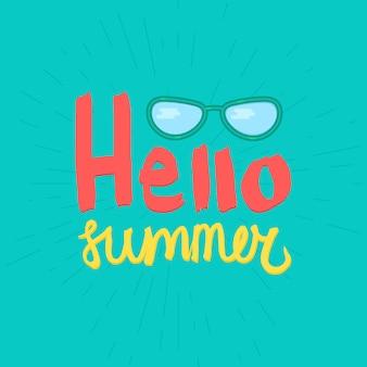 Hola letras de verano