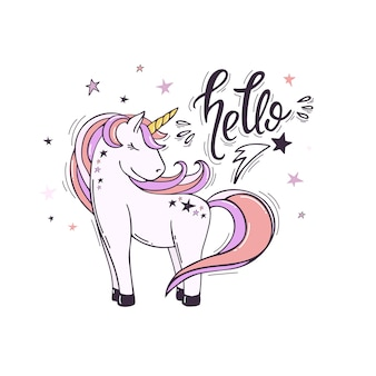 Hola unicornio
