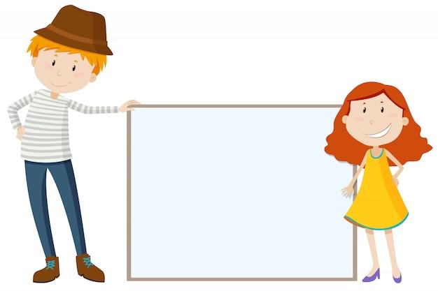 Hombre alto y chica baja