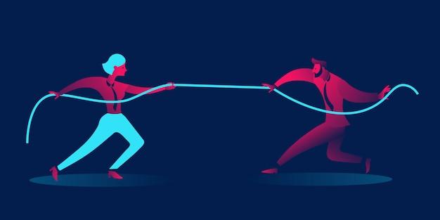 Hombre contra mujer, guerra de género