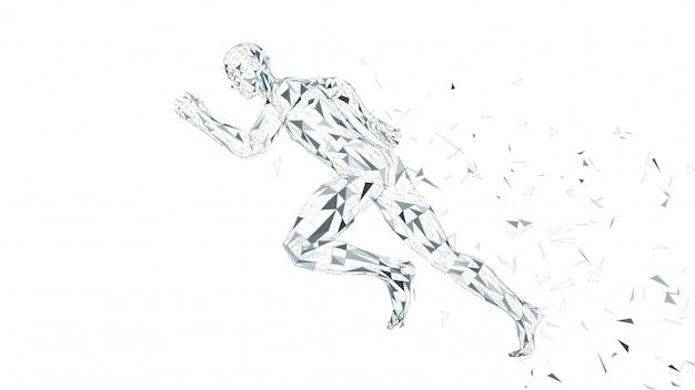 Hombre corredor