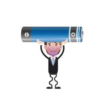 Hombre, empresa / negocio, electrónico, dispositivo, señal