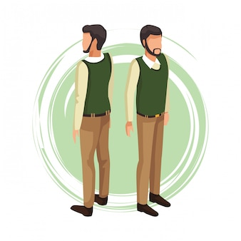 Hombre con suéter avatar