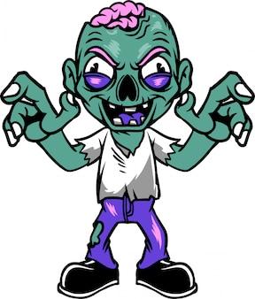Hombre zombie