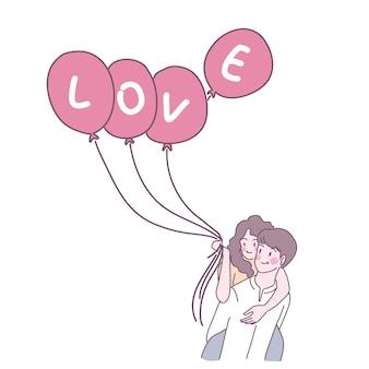 Hombres y mujeres que se aman