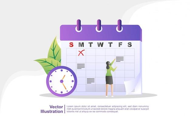 Horario y planificación, creación del plan de estudio personal, planificación del tiempo de negocios, eventos y noticias, recordatorio y horario.