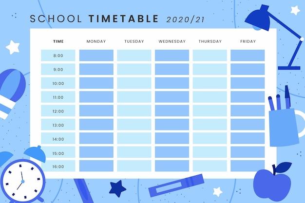 Horario de regreso a la escuela