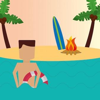 Horario de verano playa