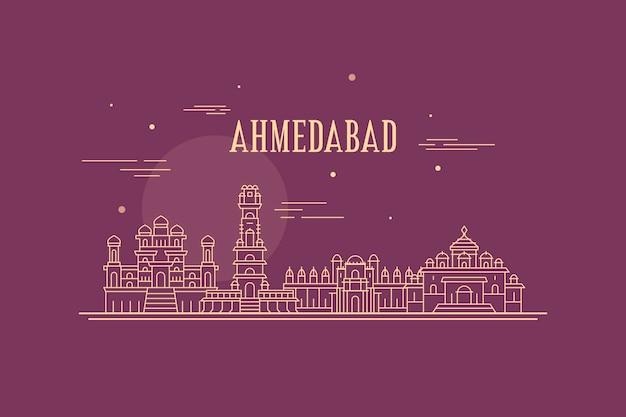 Horizonte lineal de ahmedabad