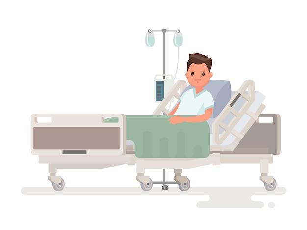 Hospitalización del paciente