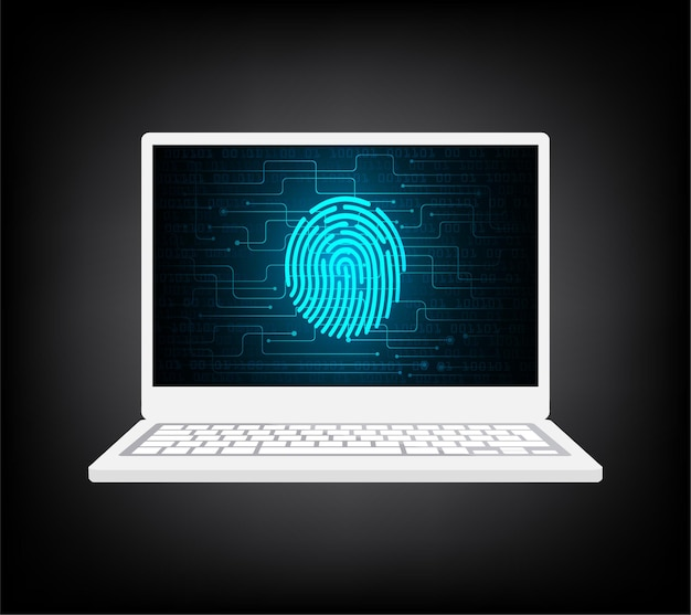 Huella digital de seguridad de pc