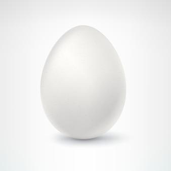 Huevo, aislado en blanco