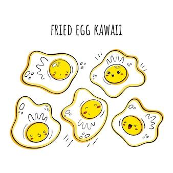 Huevos revueltos, huevos fritos.