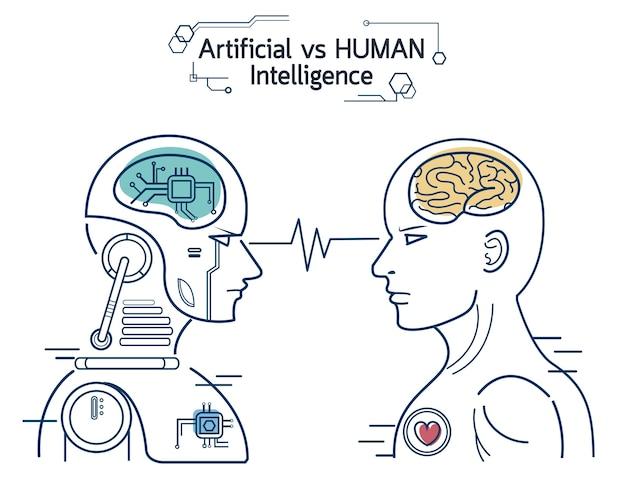Humanos vs robots
