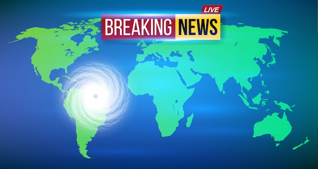 Huracán ciclón viento, tormenta de tifones en espiral.