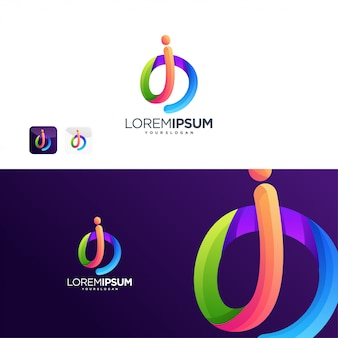 I logo internet tecnologia digital