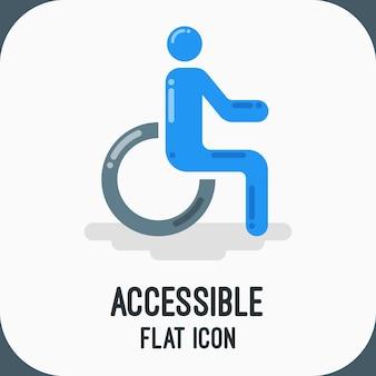 Icono accesible