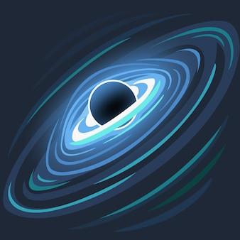 Icono de agujero negro.