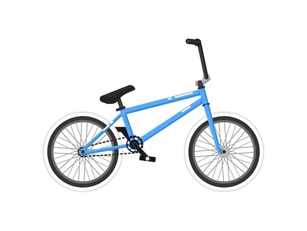 Icono aislado de bicicleta deportiva bmx